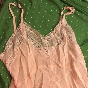 Vintage Baby Pink Slip
